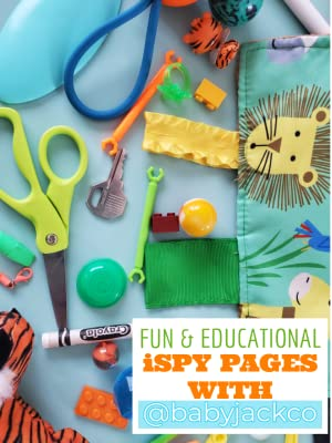 Create an Eye Spy Page at home!