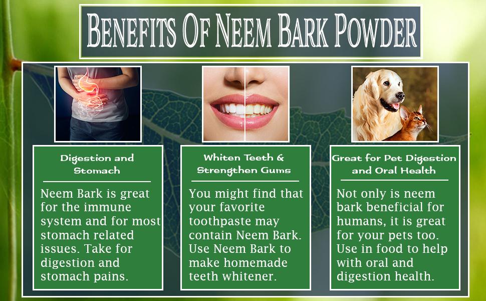 Neem bark powder benefits