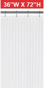 satin striped 36x72