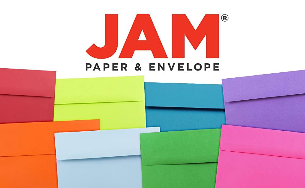 jam paper A10 colored envelopes