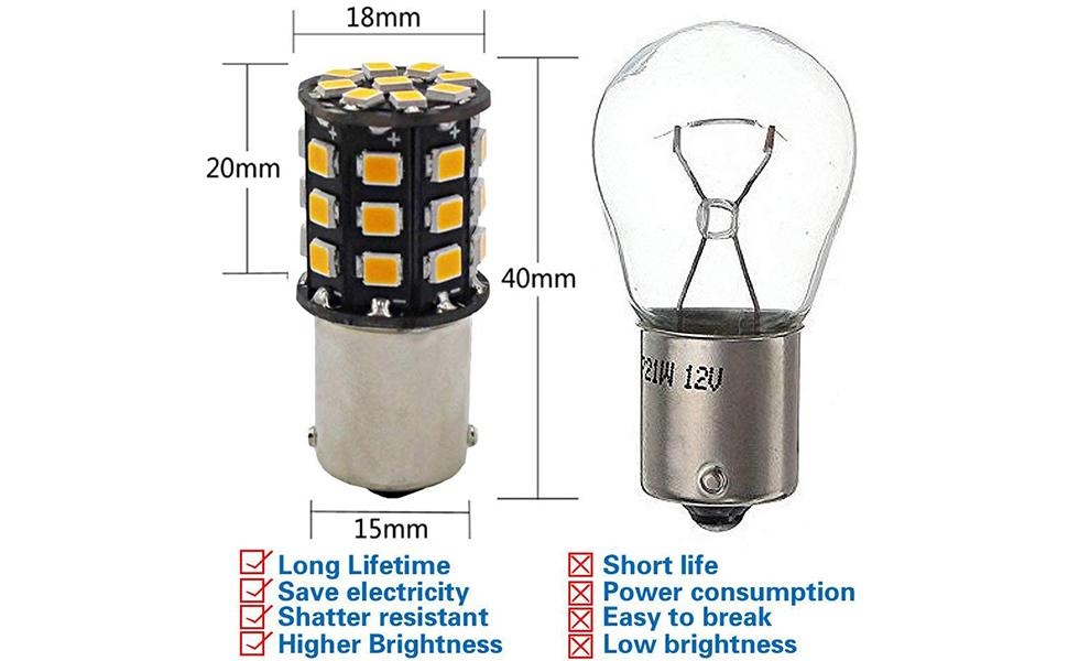 BAU15S LED
