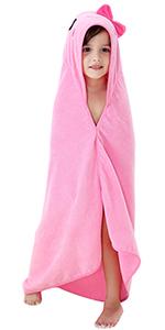 pink bath towels