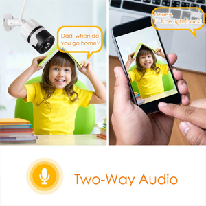 two-way audio function