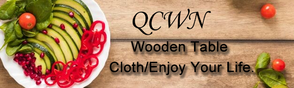 QCWN Wooden Table Cloth