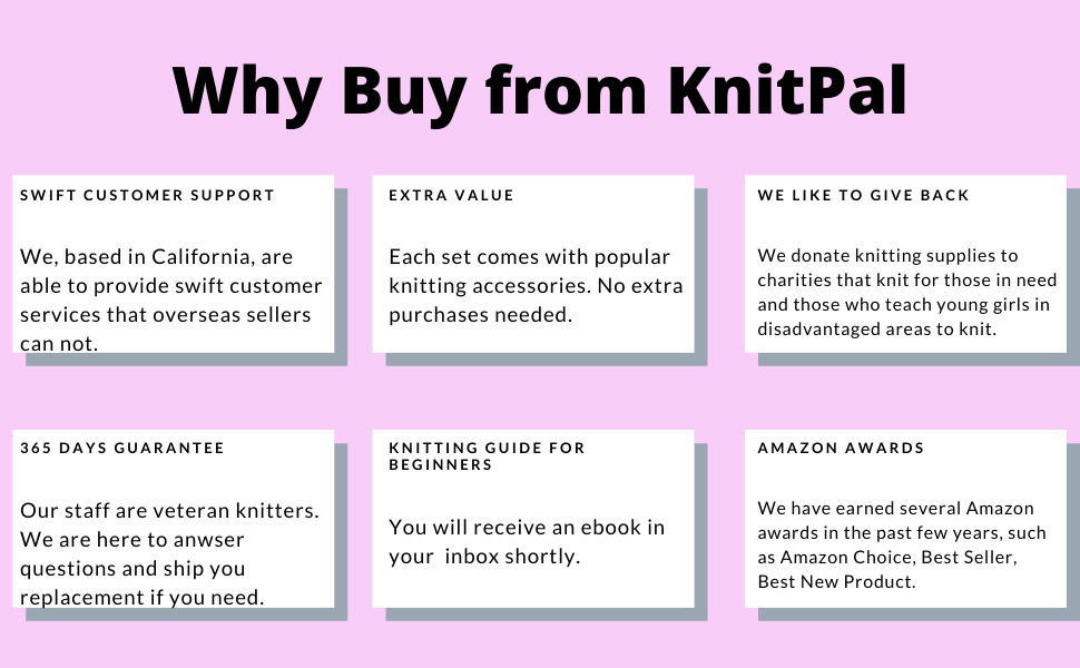 WHY BUY FROM KNITPAL