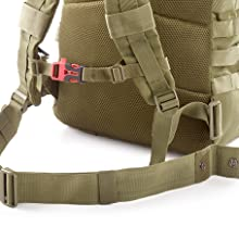 Evertac backpack waist belt