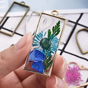finished pendant resin jewelry art handmade keychain craft