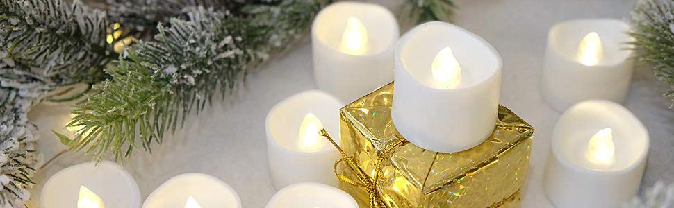 bright white led tealight