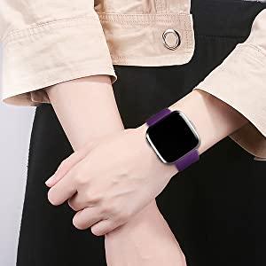 JuQBanke 4 Pack Band Fitbit Versa 2