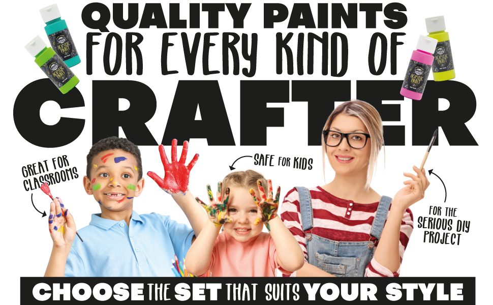 paint sets for do it yourself crafts art projects