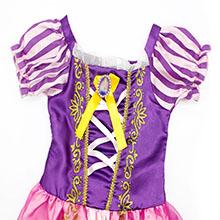 little girls dresses ruffle HG018-5
