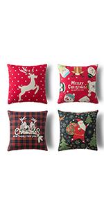 farmhouse christmas decorative pillows pillows holiday christmas pioows cotton xmas throw xmas throw