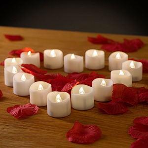 romantic battery tealights