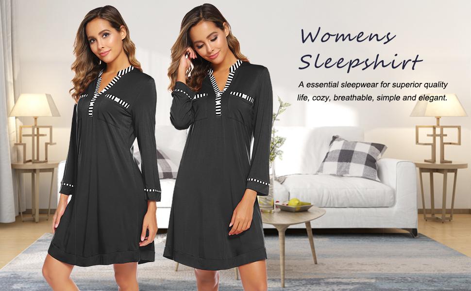 sleepwear dress for women