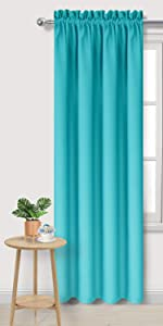 Teal Blackout Curtains