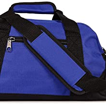 duffel duffle bags blue yellow green