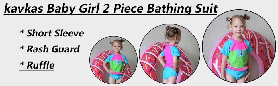 kavkas baby girl bathing suit