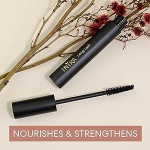 INIKA Organic Long Lash Mascara nourishes lashes