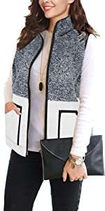 Women's Sweatshirts Pullover for Women Long Sleeve Tunic with Cowl Neck Zip Tops