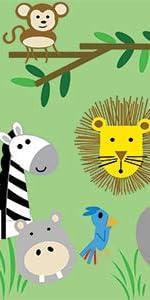 Zoo Baby, Jungle Nursery, Lion Baby Blanket, Monkey Lovey, Zoo Toy, Elephant Toy, Zebra Toy
