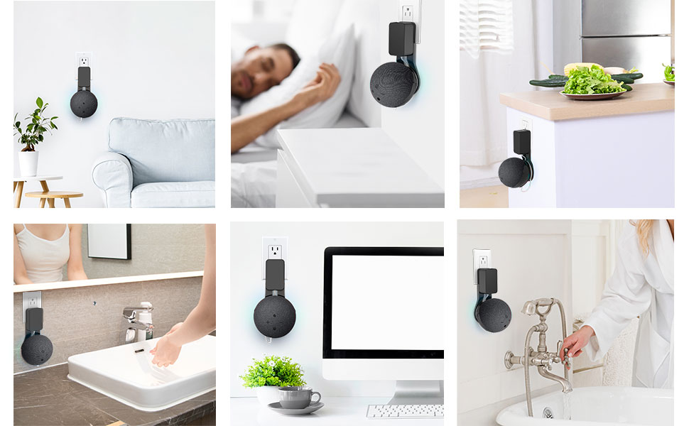Wide use in bedroom, bathroom, kitchen, living room and office, etc