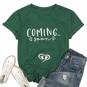 Coming Soon Pregnancy Announcement T Shirt
