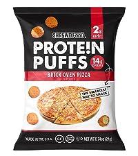 Brick Oven Pizza Protein Puffs