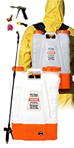 petra battery powered sprayer