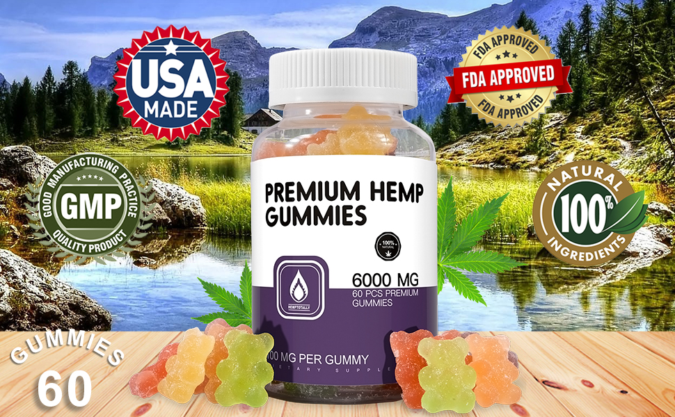 best healthy 60 gummies natural made in usa