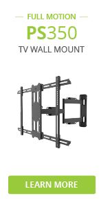 ps350 full motion tv wall mount