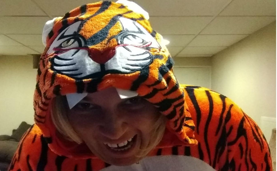 tiger fox deer reindeer adult onesie pajamas women men teens girls onsie pijamas halloween costumes