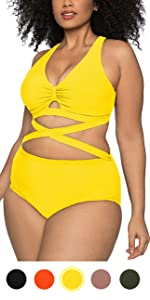 plus size bikini swimsuit for women