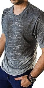 Sweat Activated Shirt, Motivational Workout Message Shirt
