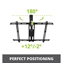 perfect positioning with swivel and tilt capabilities