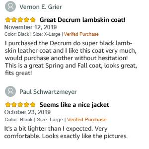 Jacket Reviews