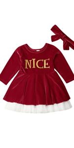 Baby Girls Christmas Dress