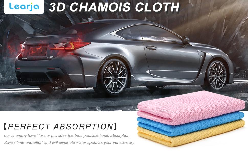 chamois drying towel