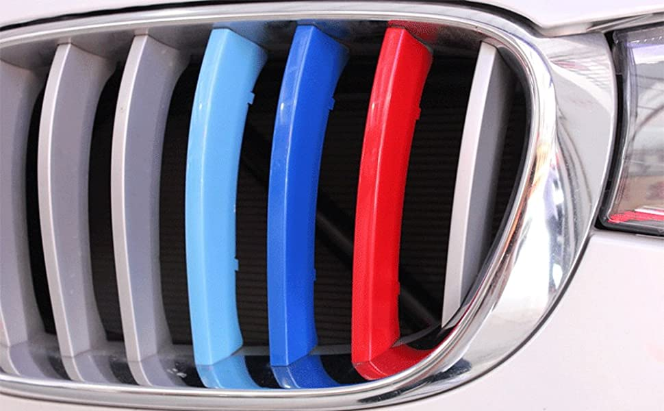 M-Color Grille Insert Trims For BMW F25 X3 F26 X4