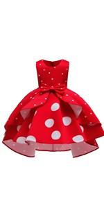 Polka Dots Girls Dress