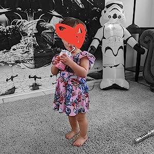 Cute Baby Girls Playwear Dress
