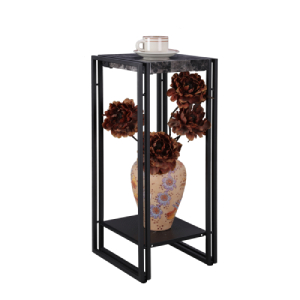 Marble telephone table stand with storage