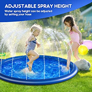 Splash Play Mat for Kids and Toddlers