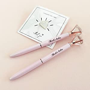 bridesmaids diamond pens