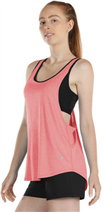 workout tank top with built in bra
