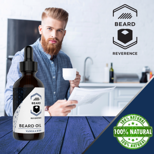 Vanilla Beard Oil 100% Natural