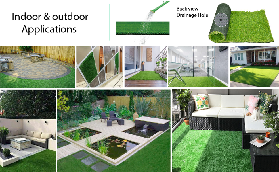 grass decor for indoor/outdoor