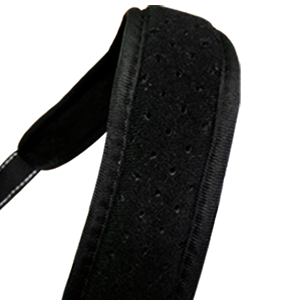 Breathable soft shoulder strap