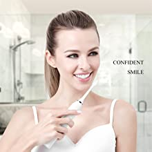 sonic electric toothbrush with 2 mins smart timer