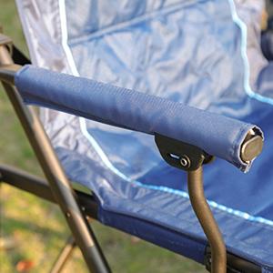 Detachable padded hard armrest