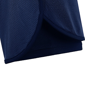 double layer 2 in 1 shorts